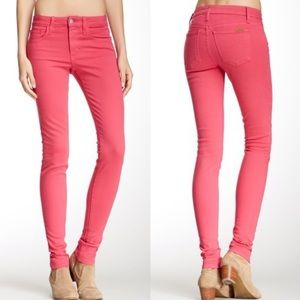 Joe's Jeans The Skinny Jean In Pink Size 30
